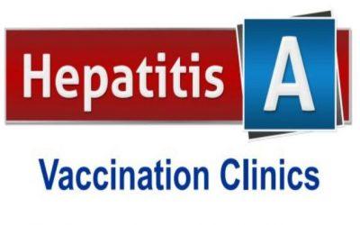 Hepatitis A Vaccine Clinics Scheduled