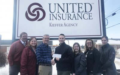 United Insurance Makes Donation to JCF