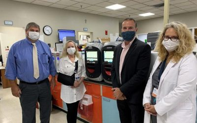 Cary Medical Center Receives $20,000 Donation for PCR Instrument