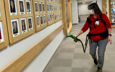 Cary Medical Center Adds New Cleaning Technology