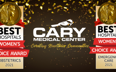 Cary Medical Center Receives Two 2021 Women's Choice Awards®