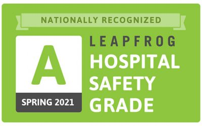 """Cary Recognized by Leapfrog Group with """"A"""" for Patient Safety"""
