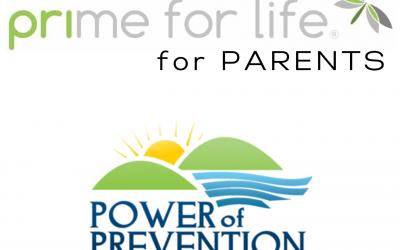 Prime for Life Parenting Webinar: July – REGISTER NOW
